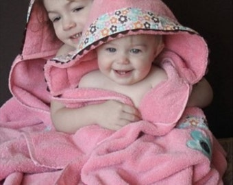Hooded Towel Personalized For Your Baby Toddler And Big Kids Too