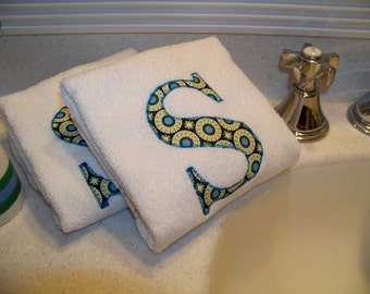 Hand Towels Personalized Bath Kitchen Spa Gym Towel Housewarming Hostess Gift Teacher Gift