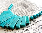 Indian Princess - turquoise and hemp