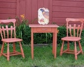 Painted Cottage Table & Chairs