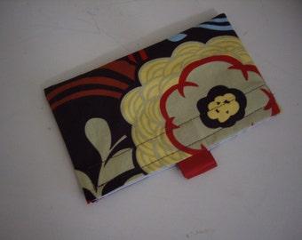 Reusable Snack Bag - Brown Print with Tabs