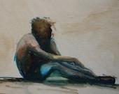 Chautauqua Dancers III 2010 - Original Oil Painting on canvas by Lauralynn White