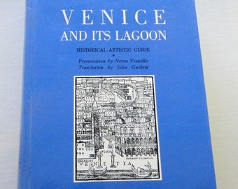 RARE Venice Its Lagoons Maps Guide Illustrated