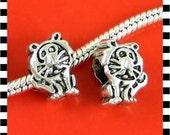 Tiger Charm - Fits European Style Bracelets