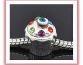 CUPCAKE Charm - Fits European Style Bracelets