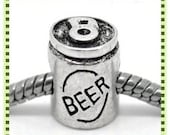 Beer Can Charm - Fits European Style Bracelets