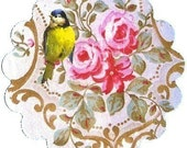 Shabby Style, Stickers, Roses Stickers, Bird Stickers