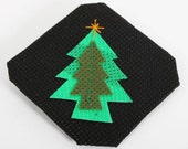 Christmas Tree Design Brooch