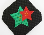 Christmas Stars design Brooch