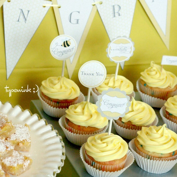 HoneyBee Baby Shower - EDITABLE - (Printable) - DIY