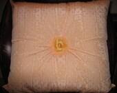 Peach Moire' Pillow