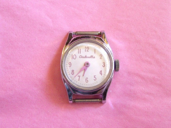 Disney Cinderella Watch - Collectable by US Time - 1957-1968