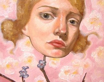 Oil Painting - Agatha