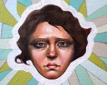 Oil Painting - Greta