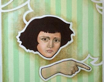 Oil Painting - Louisa