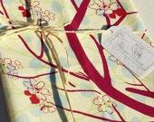 Cherry Tree Tea Towel