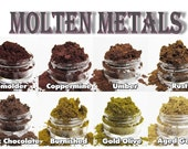 Mineral Eyeshadow-Molten Metals Collection-Pick 3 Colors