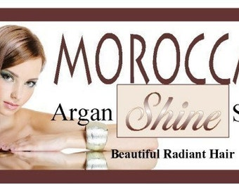 Moroccan Shine-Argan Oil Hair Polish and Repair Serum