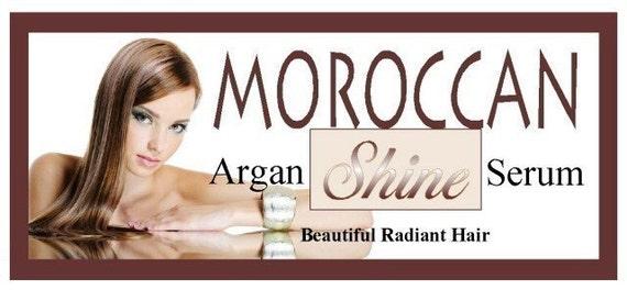 Moroccan Shine-Argan Oil Hair Polish and Repair Serum