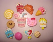 12 Sweets Cabochons Mix