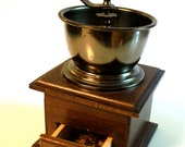 Vintage Coffee Grinder treasury item