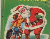 Antique Book 1951 A Little Cowboy's Christmas First Edition