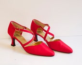 Vintage Red Shoes by Thom McAn