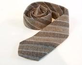 Vintage 1960s Skinny Wool necktie