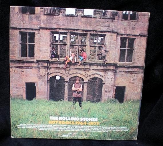 Vintage The Rolling Stones Hot Rocks 1964-1971 Double Vinyl London 2PS 606/7
