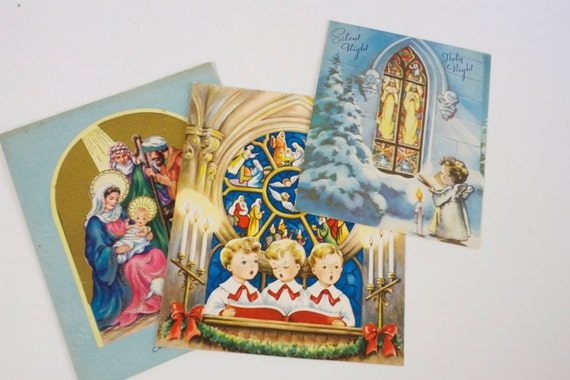 Vintage 1950s Christmas Cards