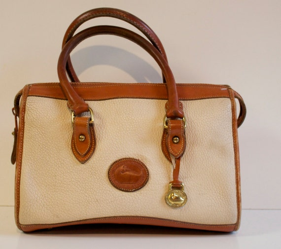 Vintage 1980s Dooney and Bourke Leather Purse