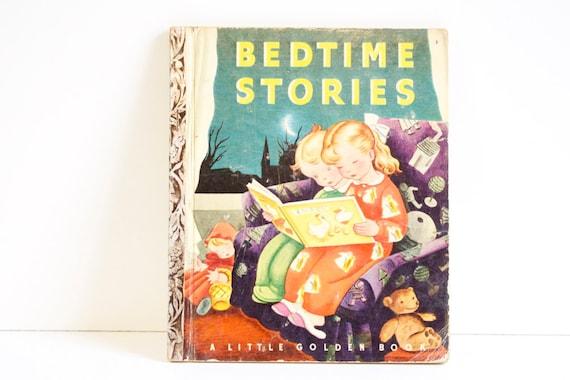 Antique 1942 Little Golden Book Bedtime Stories