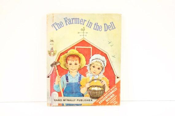 Vintage 1967 The Farmer in the Dell Elf Book
