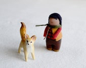 Martin and his fox friend- limited set by royalmint and HandyMaiden