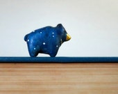 Stellar Bear pocket totem figurine