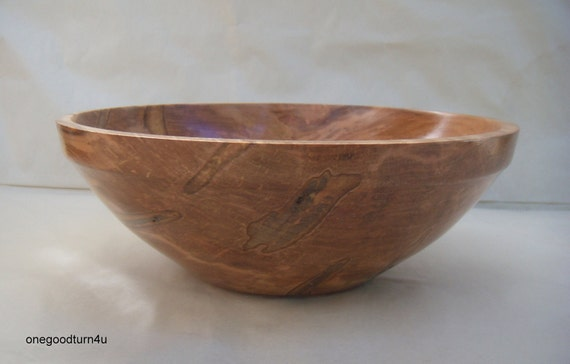 Ambrosia Maple wooden bowl home decor woodturning woodworking  kitchen salad fruit  snacks