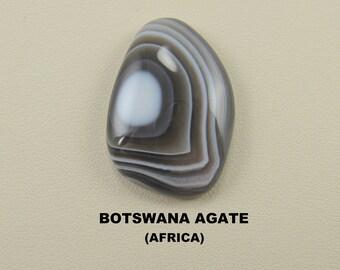 Botswana Agate Freeform Designer Cabochon.