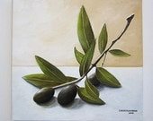 Olive Branch - Canvas Print