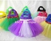 Set of 12 Tangled Rapunzel Inspired Princess Party Favor Tutu Bags