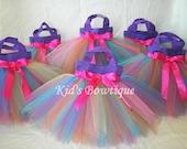 ONE Rainbow Fairy Party Favor Tutu Bag - Toddler Tutu Purse