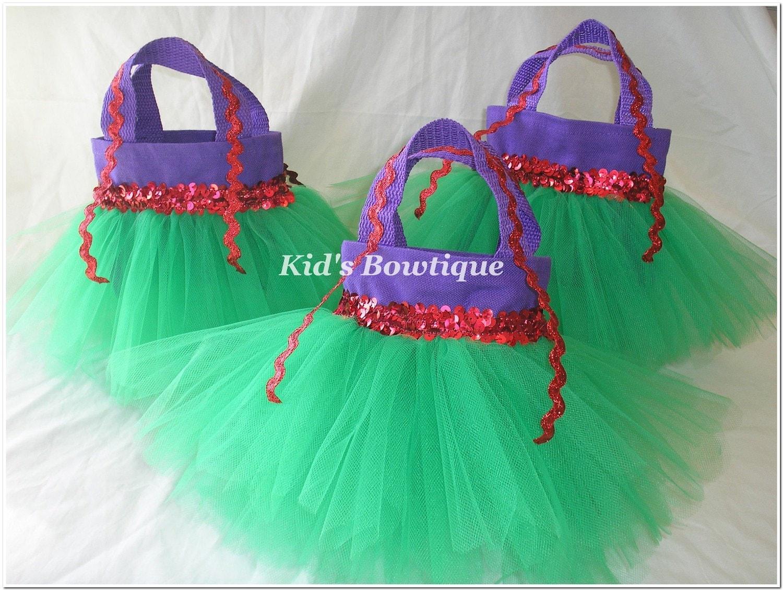Set of 4 disney princess ariel little mermaid by kidsbowtique for Ariel decoration