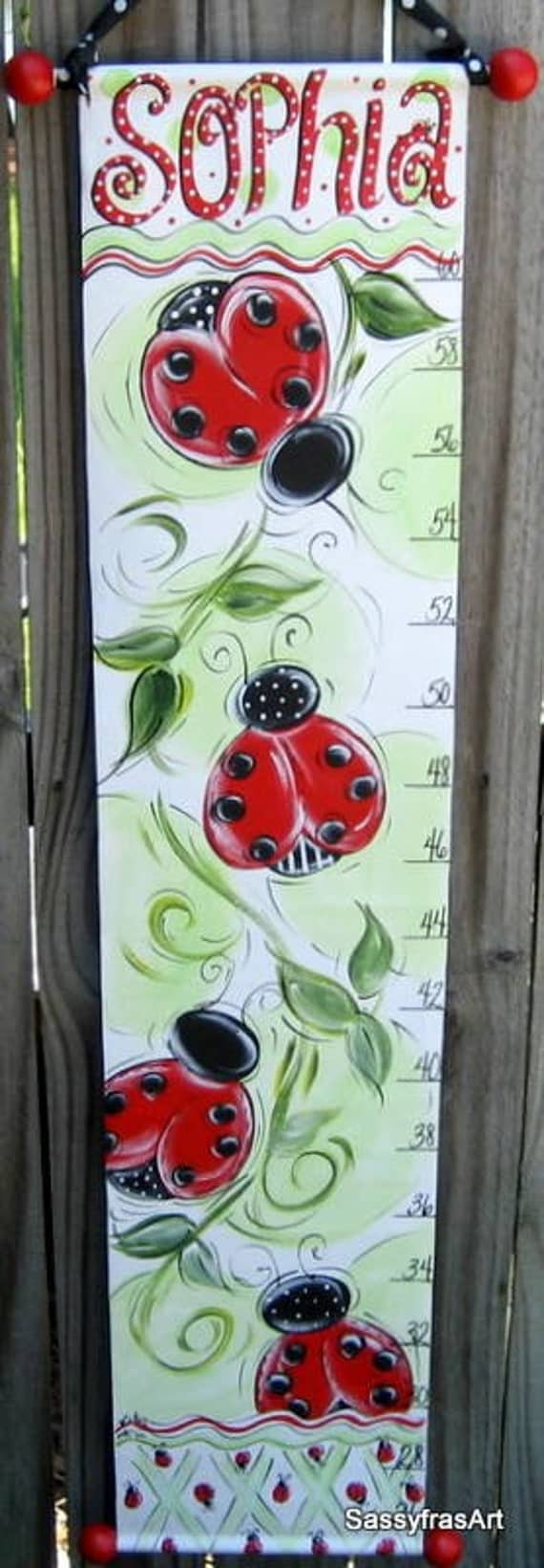 1970 volkswagen bug wiring diagram items similar to hand painted lady bug growth chart on etsy #7