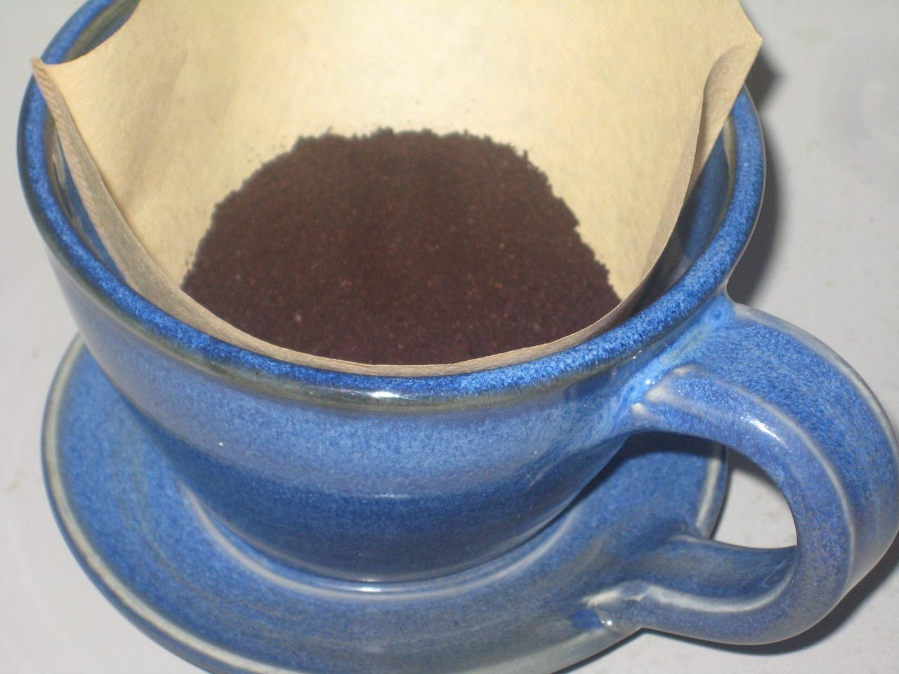 One Cup Ceramic Coffee Maker : Single cup Ceramic Coffee Maker by andersenpottery on Etsy