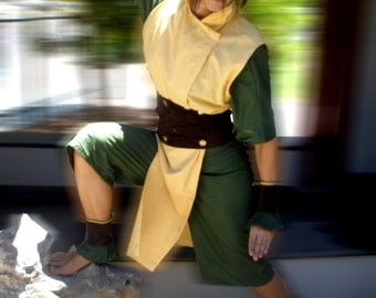 Toph Bei Fong Cosplay Costume
