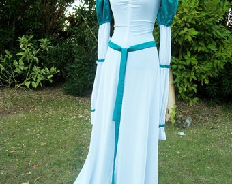 "Odette ""Swan Princess"" Cosplay Dress"