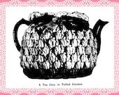 Tea Cosy Tufted crochet pattern Vintage English Weldon's PDF 1911