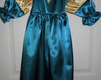 Disney Princess Merida Brave hero dress up costume
