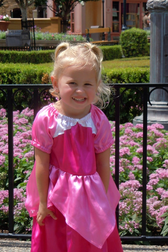 Princess Dress Aurora Sleeping Beauty dress up costume