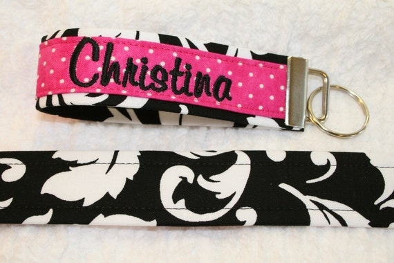 Wristlet Key Fob - set of 3 Spring Cleaning Special 3 for 12.75