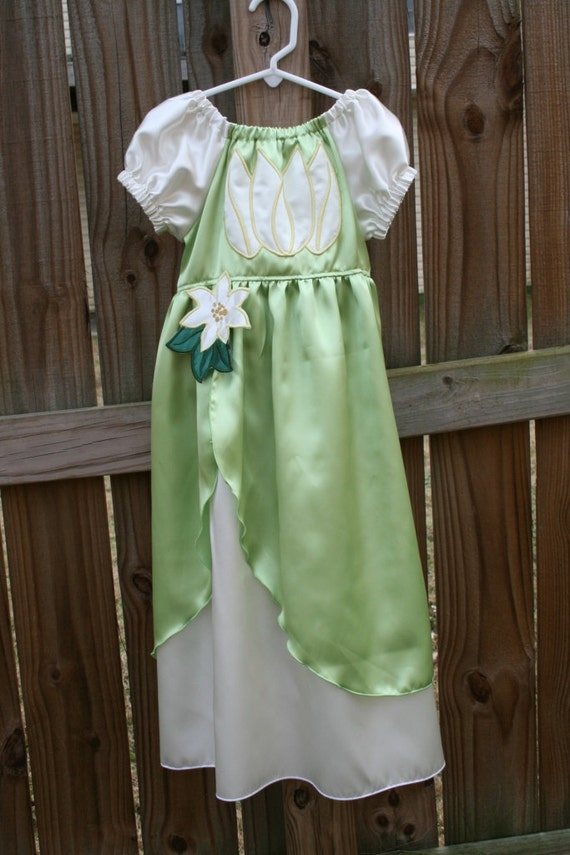 Tiana Princess and the Frog inspired dress